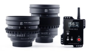 LockCircle releases Wireless aperture controlled Prime Circle XE lenses