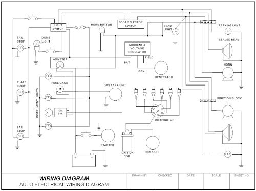 how to draw a circuit diagram solar system wiring 30 useful drawing software into robotics smartdraw