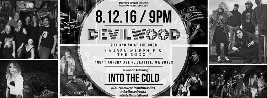 Into The Cold, Devilwood, Lauren Murphie and the Sodo 4