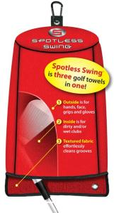 Spotless Swing Golf Towel