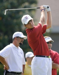 Bobby Wyatt shot a 57 on Wednesday in the AGA State Boys Junior Championship at the Country Club of Mobile.