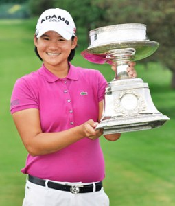 Yani Tseng wins the LPGA Championship by an astounding ten strokes