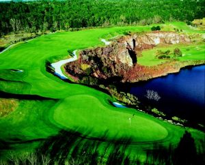16th Hole on the Quarry Course at Black Diamond Ranch