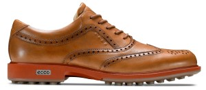 ECCO Golf Collection - Men's Tour Hybrid Wingtip Lion_BurntOchre