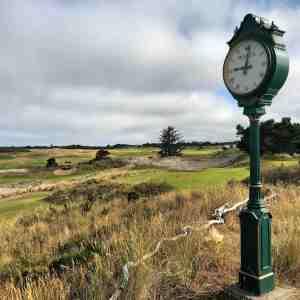 Bandon Dunes Clock