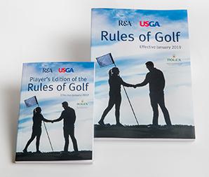USGA Rules 2019