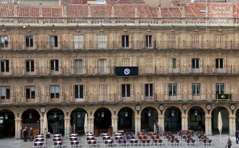 Plaza Mayor from Salamanca, Spain