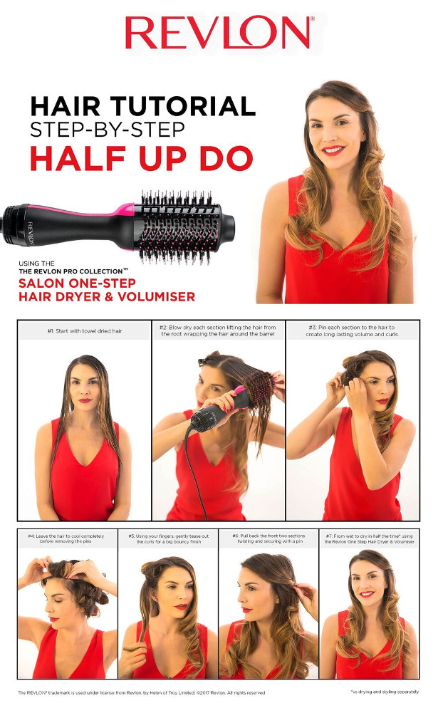 INTRODUCING THE REVLON SALON ONE STEP HAIR DRYER AND