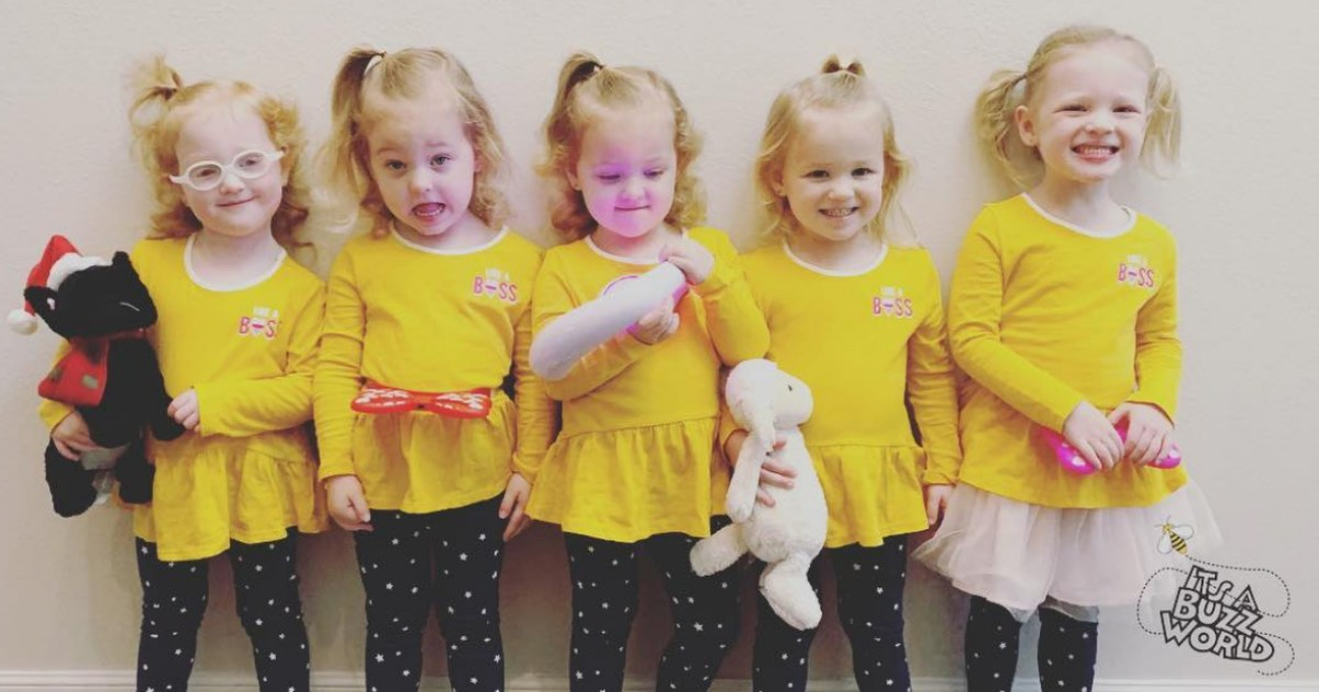 Danielle Busby Shows Off Outdaughtered Quints