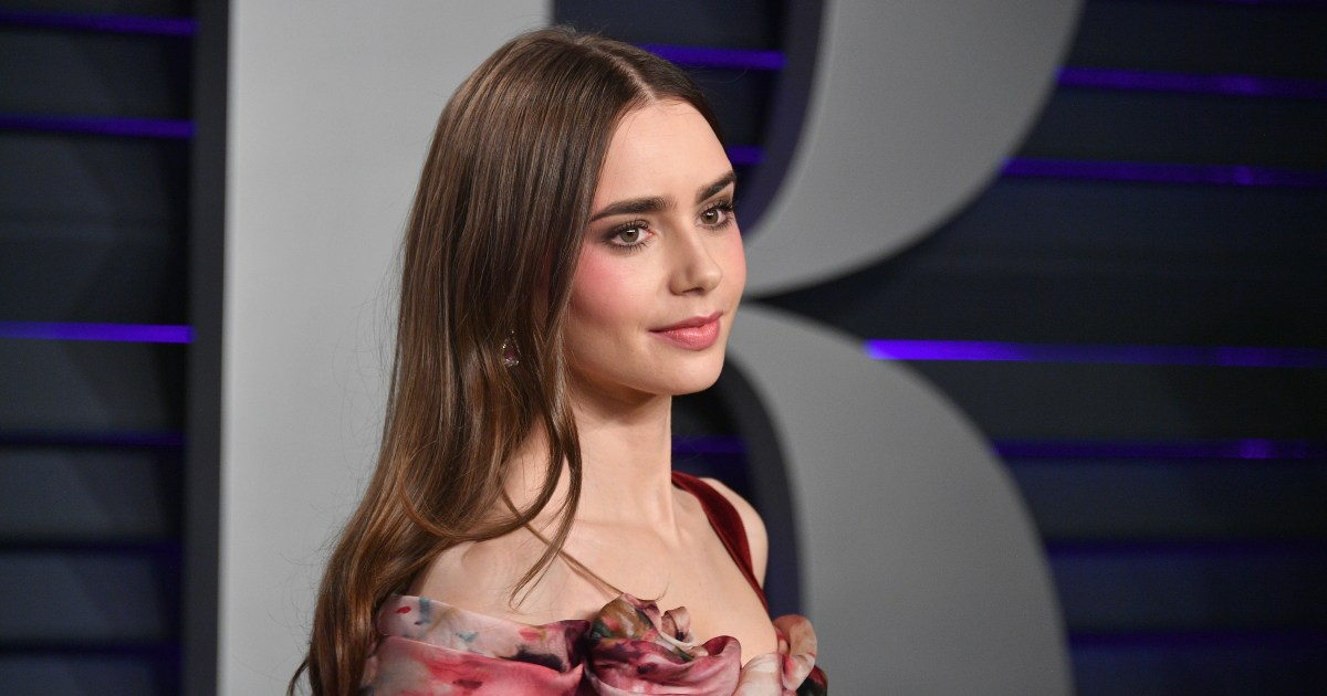 lily collins claims ted