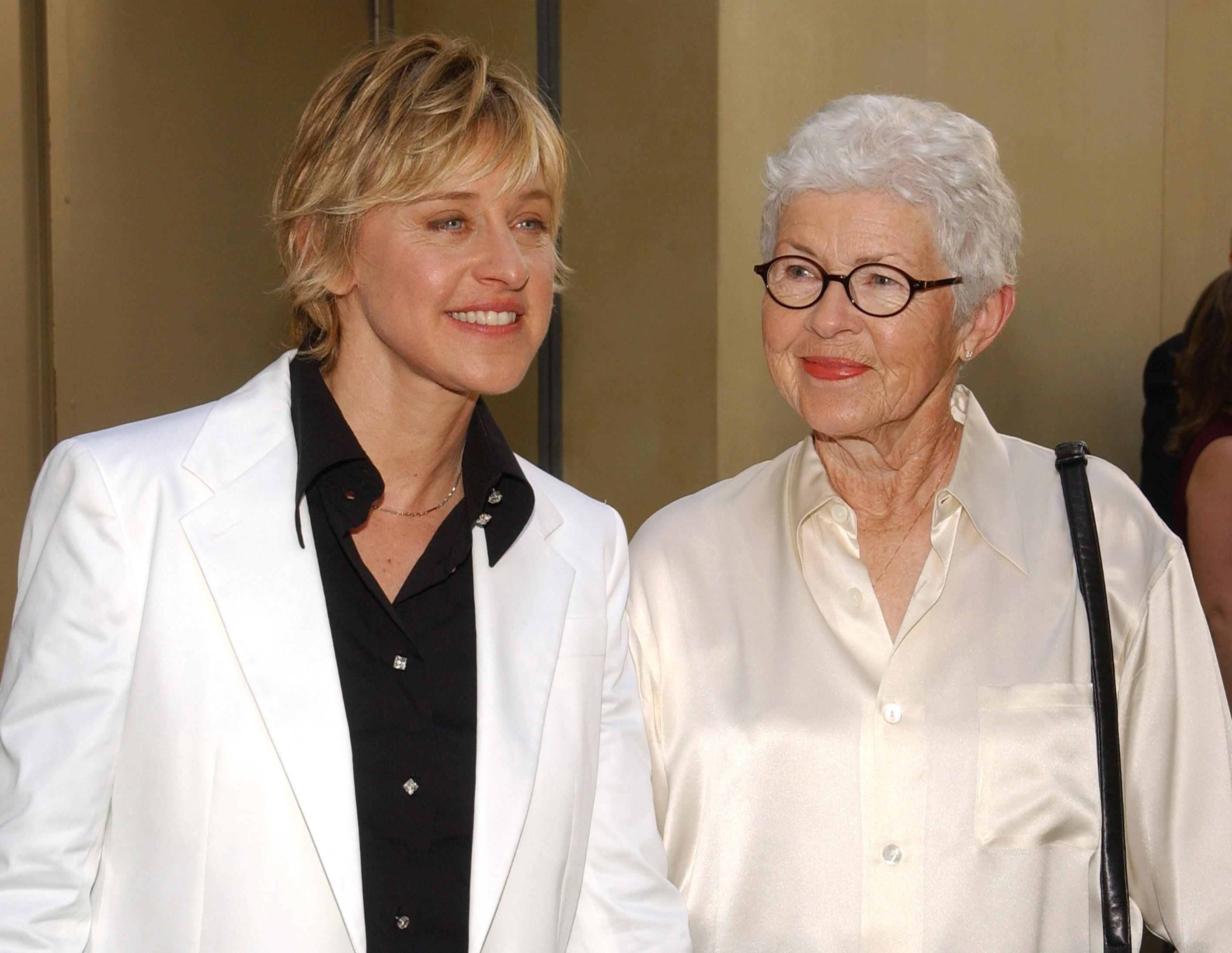 Ellen Degeneres Mom Regrets Not Believing Her Sexual