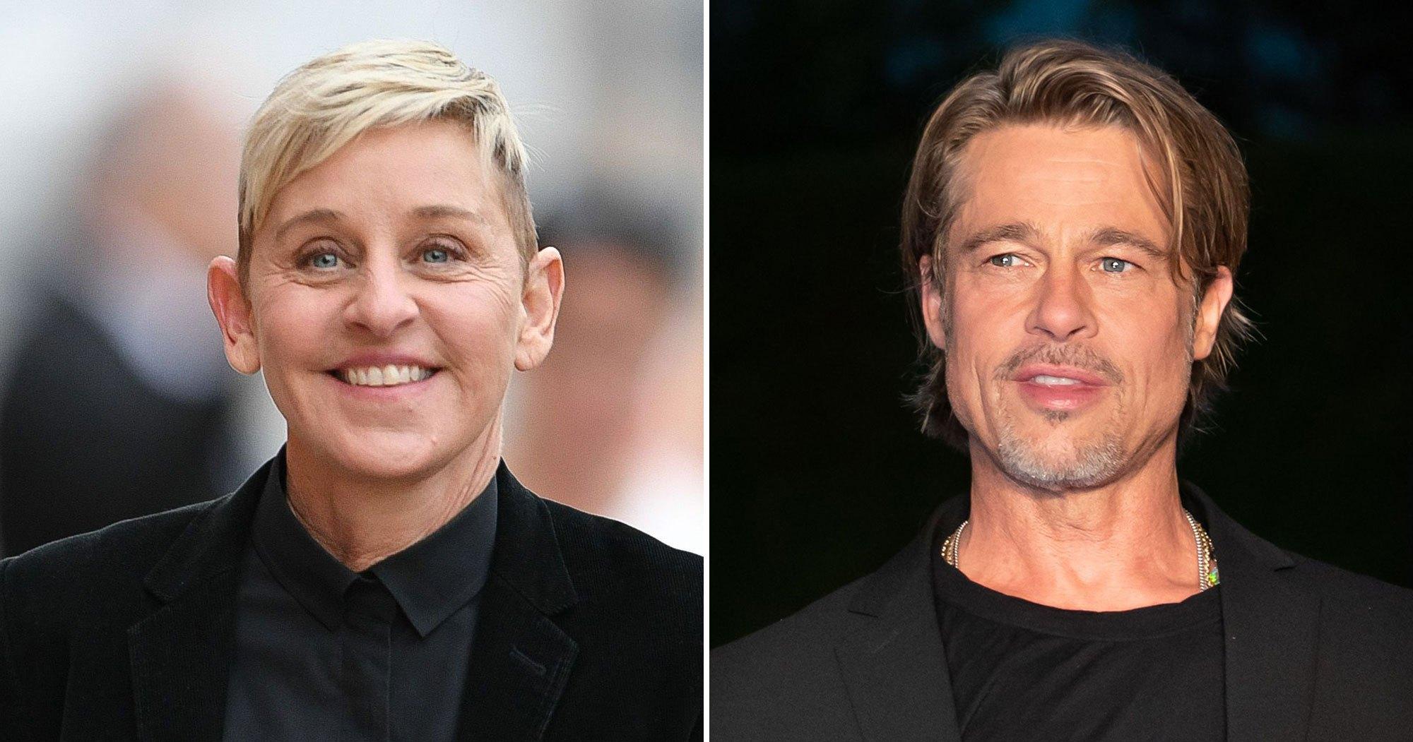 Ellen Degeneres Reveals She Dated Brad Pitt S Ex Girlfriend