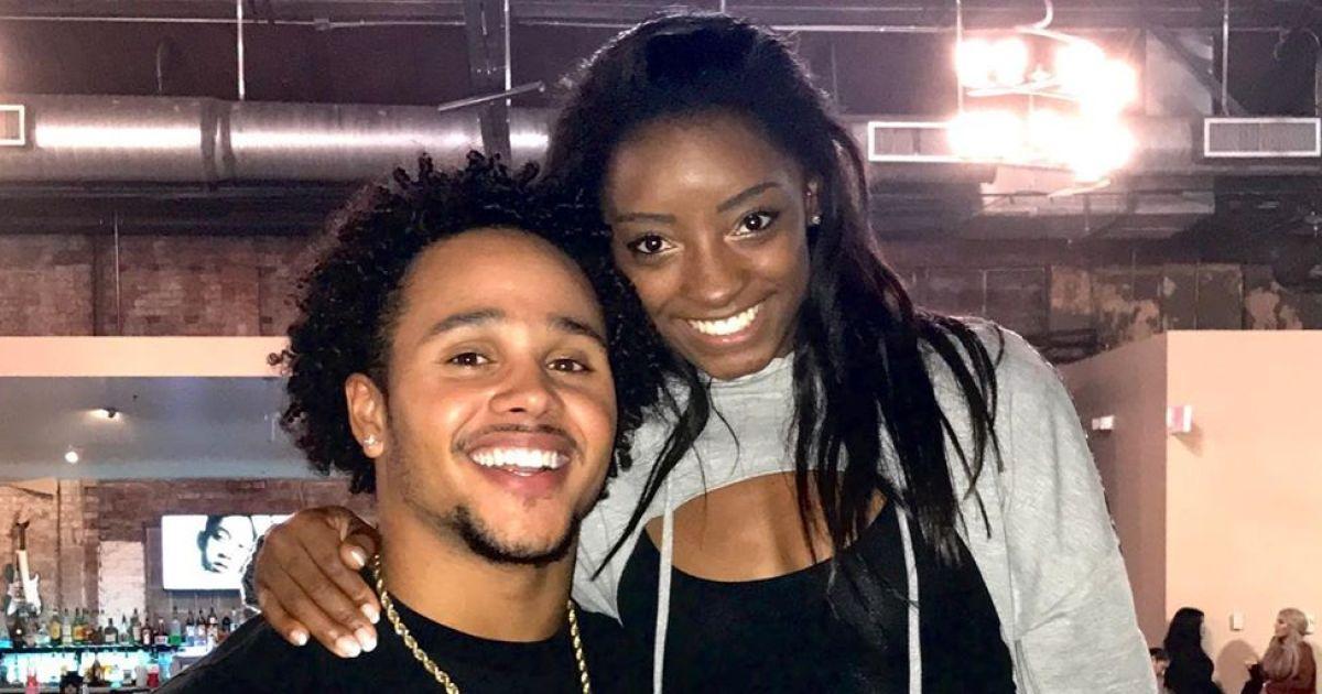 Simone Biles Wishes Her Boyfriend Happy Birthday Amid Family Drama