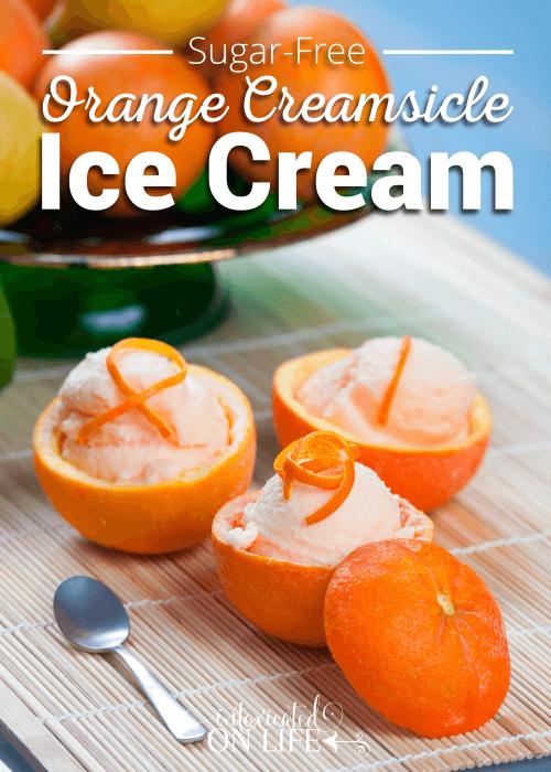 sugar free orange creamsicle