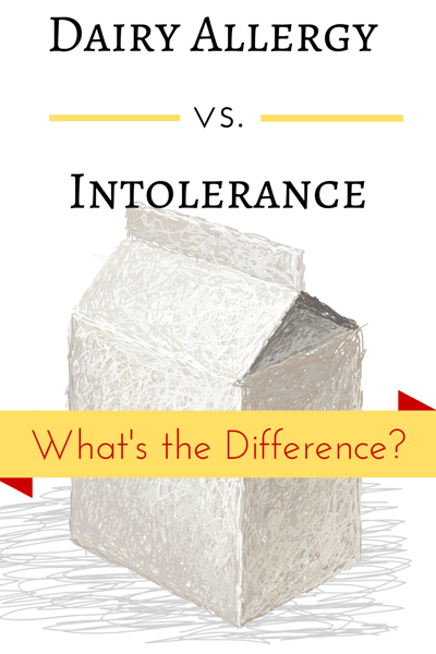 Dairy Allergy vs. Intolerance. What's the Difference? How do you deal ...