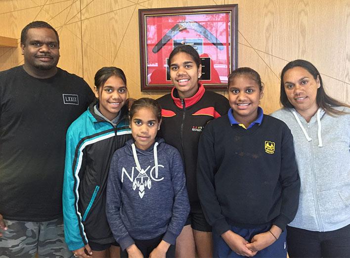 Miller-Pickett Sisters of Newton Jaguars Netball Club