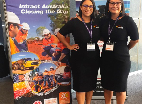 Staff at Intract's 6th Annual Northern Australian Defence Summit in Darwin