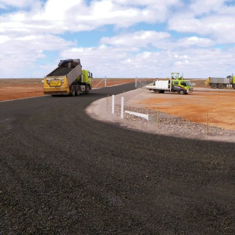 Test Range Road Connection Woomera