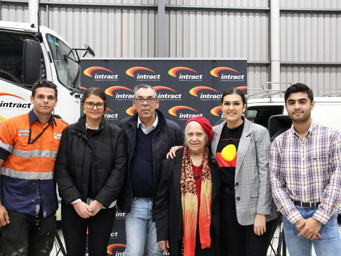 Staff enjoying the annual in-house NAIDOC Event
