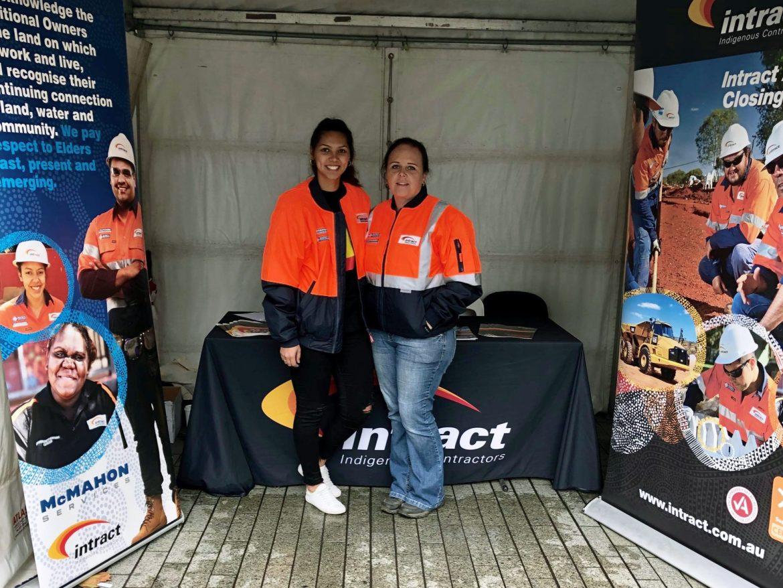 Team members representing Intract at NAIDOC Week in South Australia