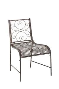 Chair ALVA Garden Iron Metal Shabby Chic Vintage Bistro ...