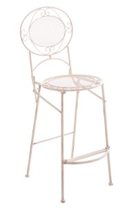 Iron Bar Stool NADIA Garden Folding High Chair Seating ...
