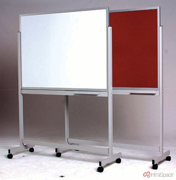 Porcelain Whiteboard - Double Sided Mobile