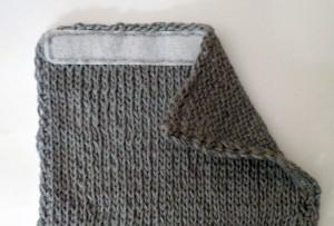 Copri cintura di sicurezza cucitura primo velcro