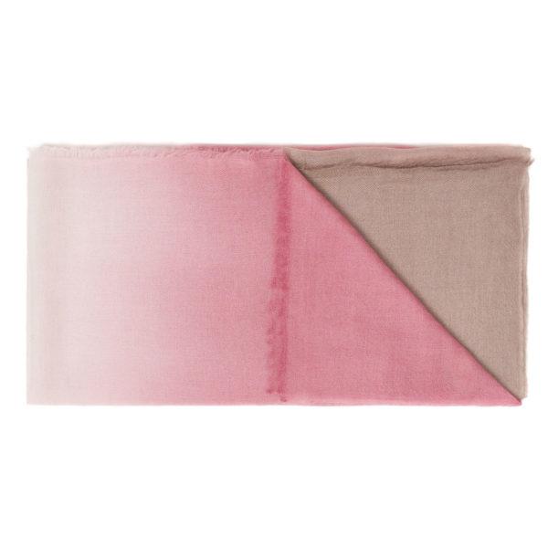 Intreccio Scarf BIcolor Pink