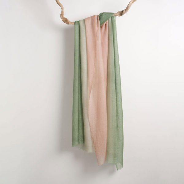 Composition BIcolor Scarf Green