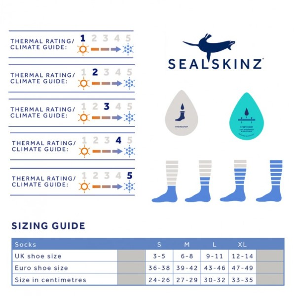 Chaussettes Sealskinz Walking