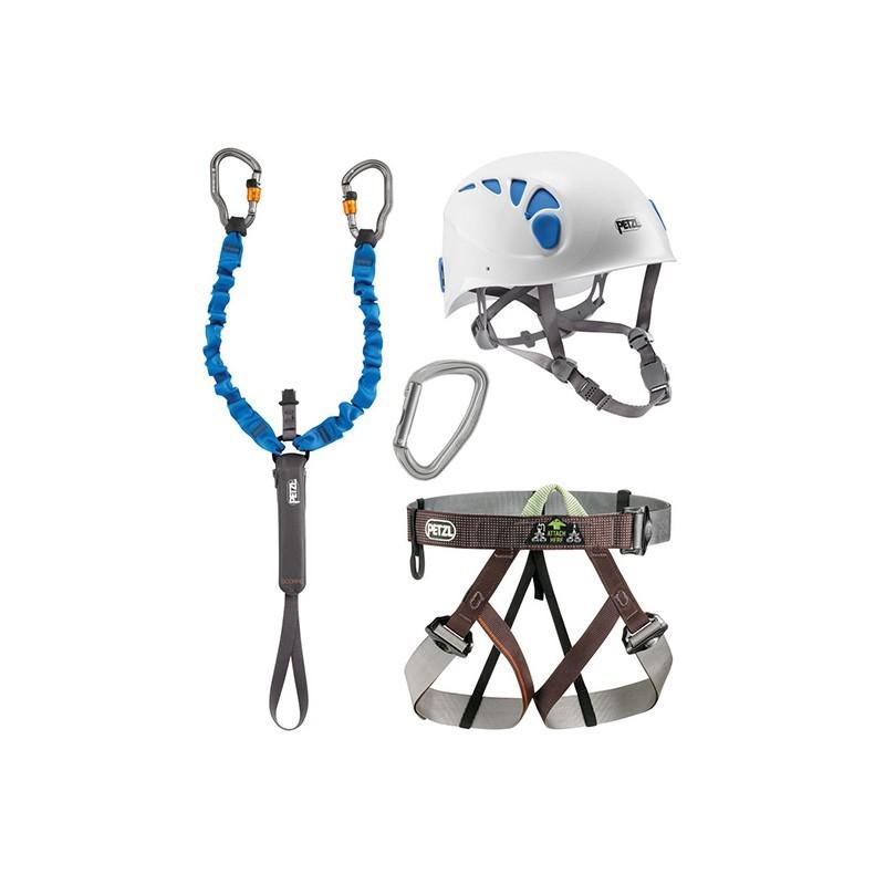 Réservation d'équipements complets pour Via ferrata