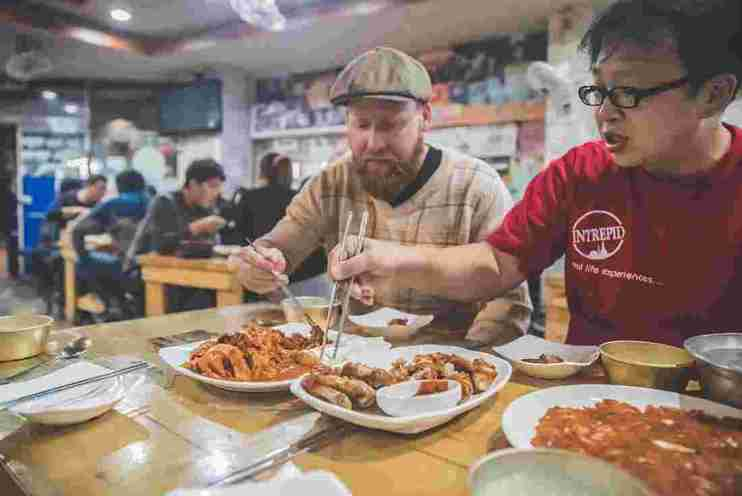 A Real Food Adventure in South Korea
