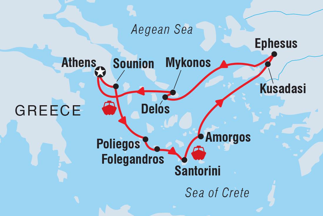 greece tours travel intrepid