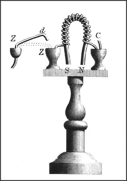 Elctromagnet inventor 1825 William Sturgeon British born in Lancashire