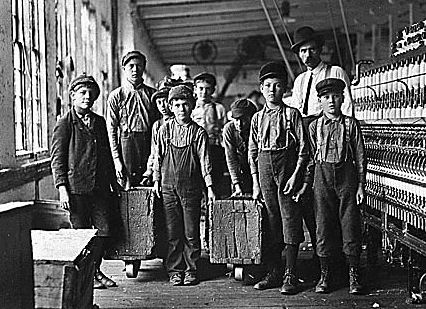 Children working in Factories