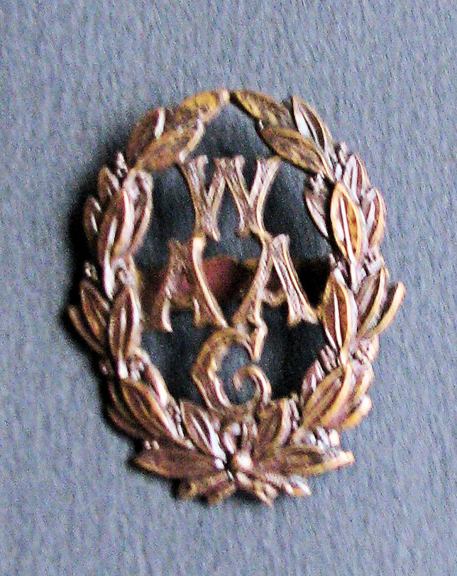 Women's Auxillary Army Corps Cap Badge worn by the Women's volunteer army 1917