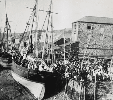 Cornish and Devon Emigration ports