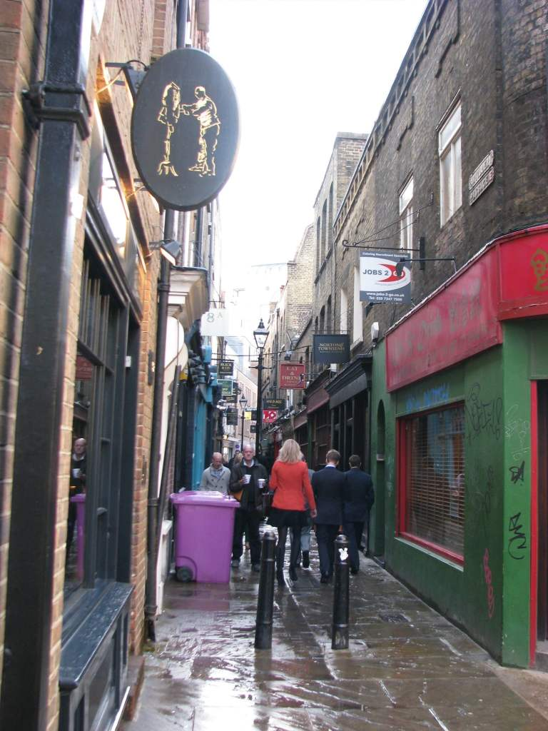 Spitalfields Artillary Passage