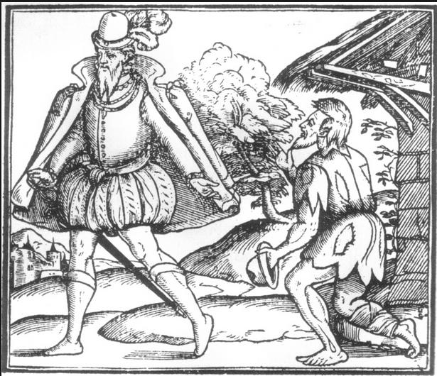 16th century vagabonds