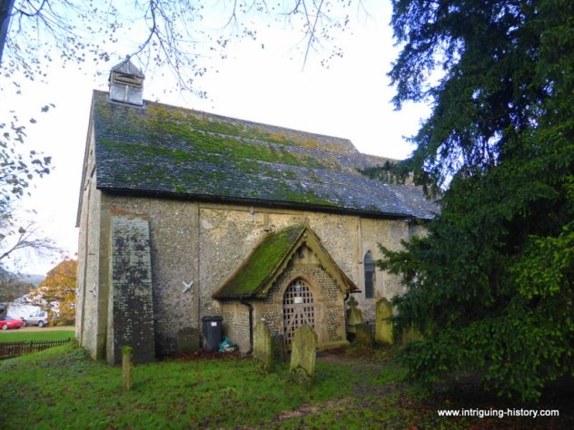 Anglo Saxon Corhampton Church Hampshire