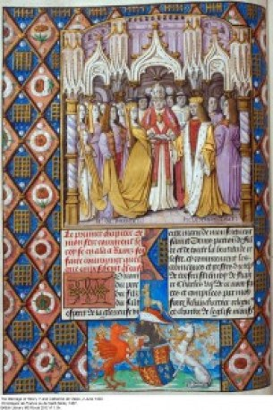 Henry V to Catherine of Valois Marriage