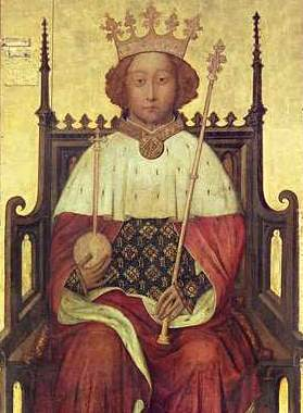 Richard II King of England from 9 years old