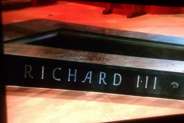Richard III Tomb 26h March 2015