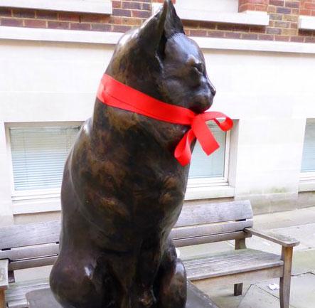 Samuel Johnso's very fine cat indeed Hodge