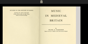 great resource on Medieval Music and its history