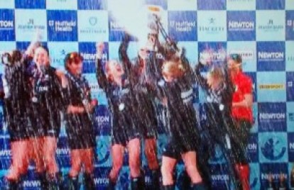 Oxford Womens win University Boat Race 2015