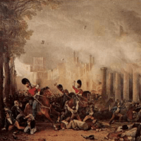 After the Battle of Waterloo