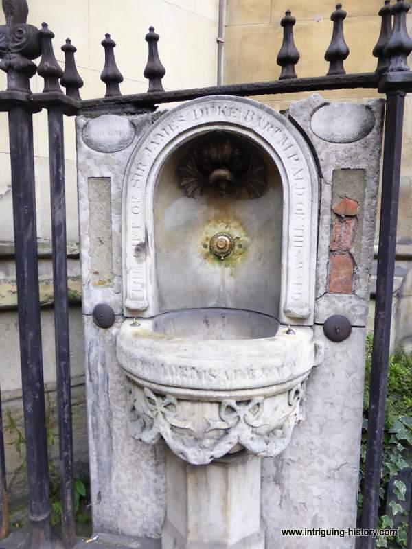 Public Drinking Fountains London