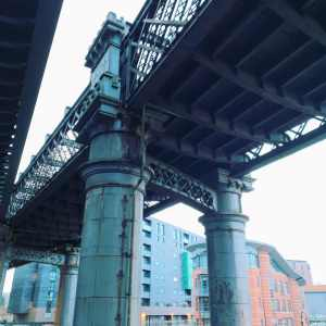 Castlefield Viaduct over Bridge Water Canal